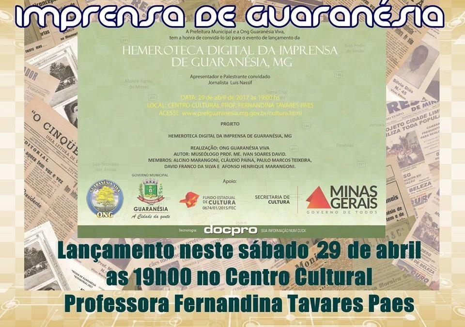 Hemeroteca Digital da Imprensa de Guaranésia