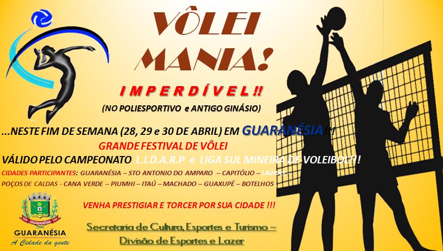 1º Festival Regional de Volei Sub 16