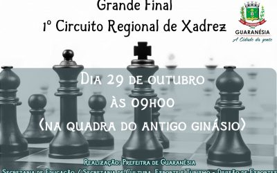 Grande Final do Circuito Regional de Xadrez