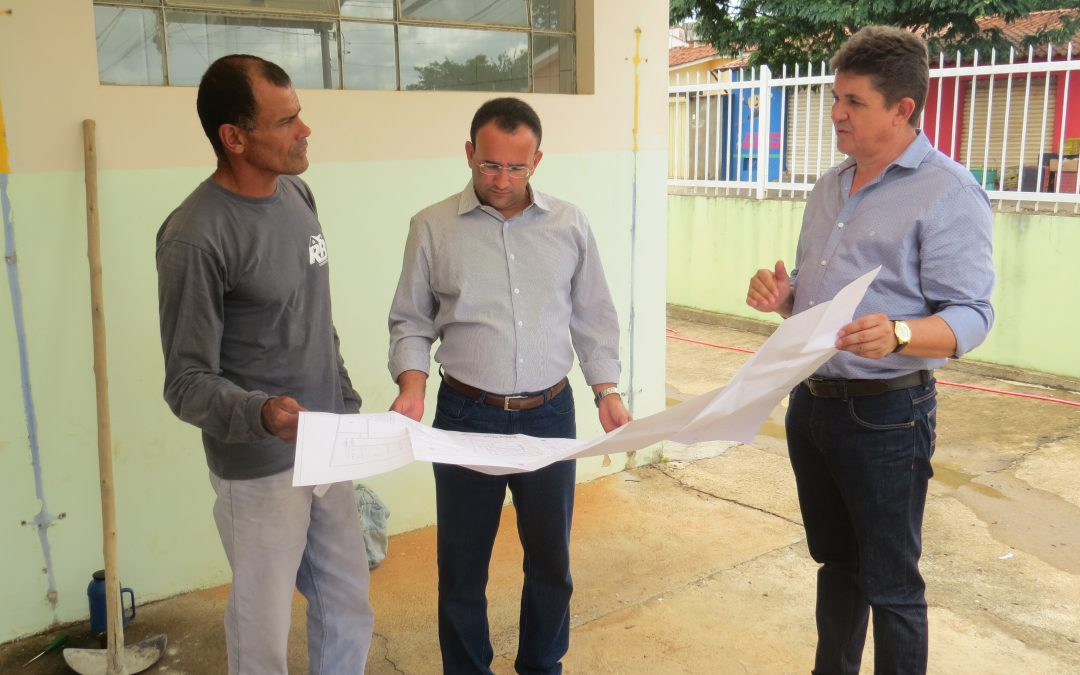 Governo Municipal dá reinicio as obras da creche Pró Infância