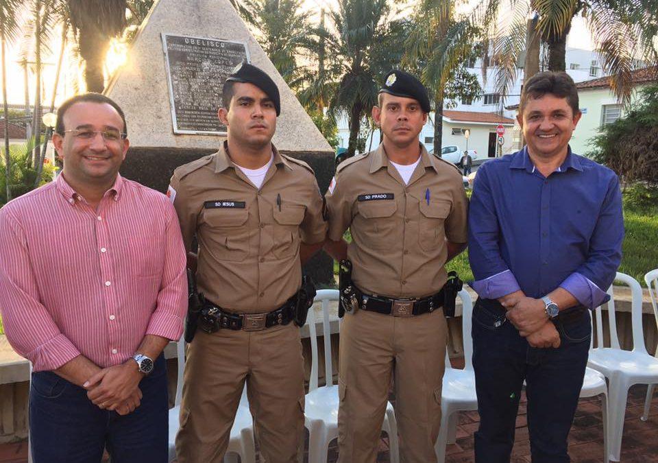 Guaranésia recebe mais 02 Soldados da Polícia Militar