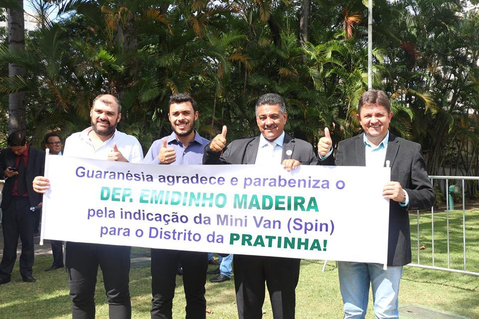 2 - Foto Emidinho Madeira - entrega veiculo Laercio