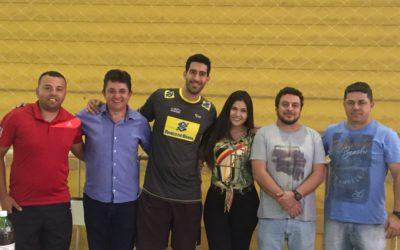 Guaranésia recebe a visita de Assistente Técnico da Seleção Brasileira de Vôlei