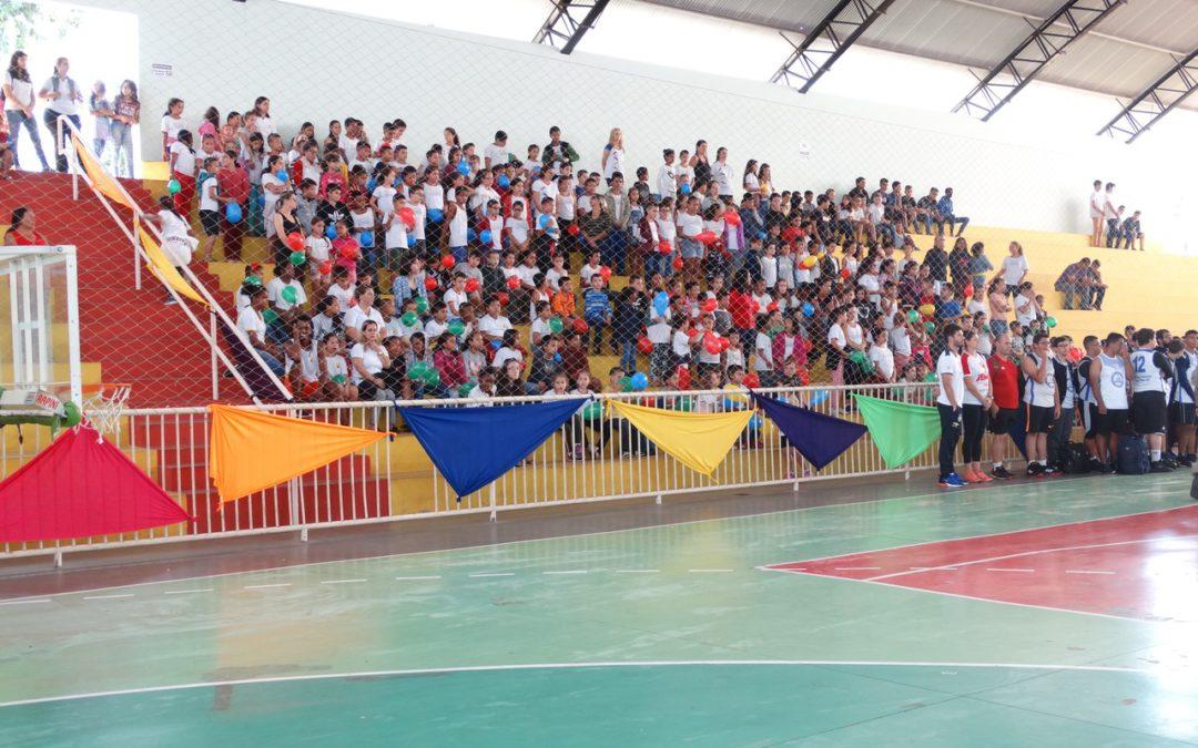 Abertura do JEMG/2019 Jogos Escolares de Minas Gerais